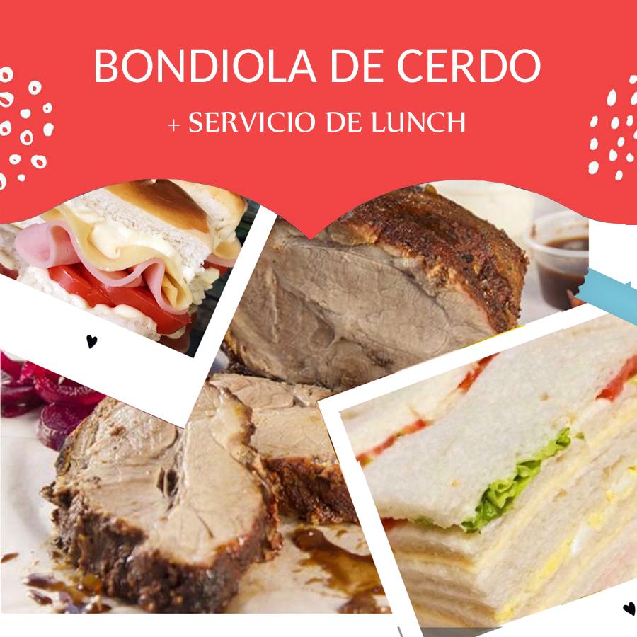 Bondiola + Lunch