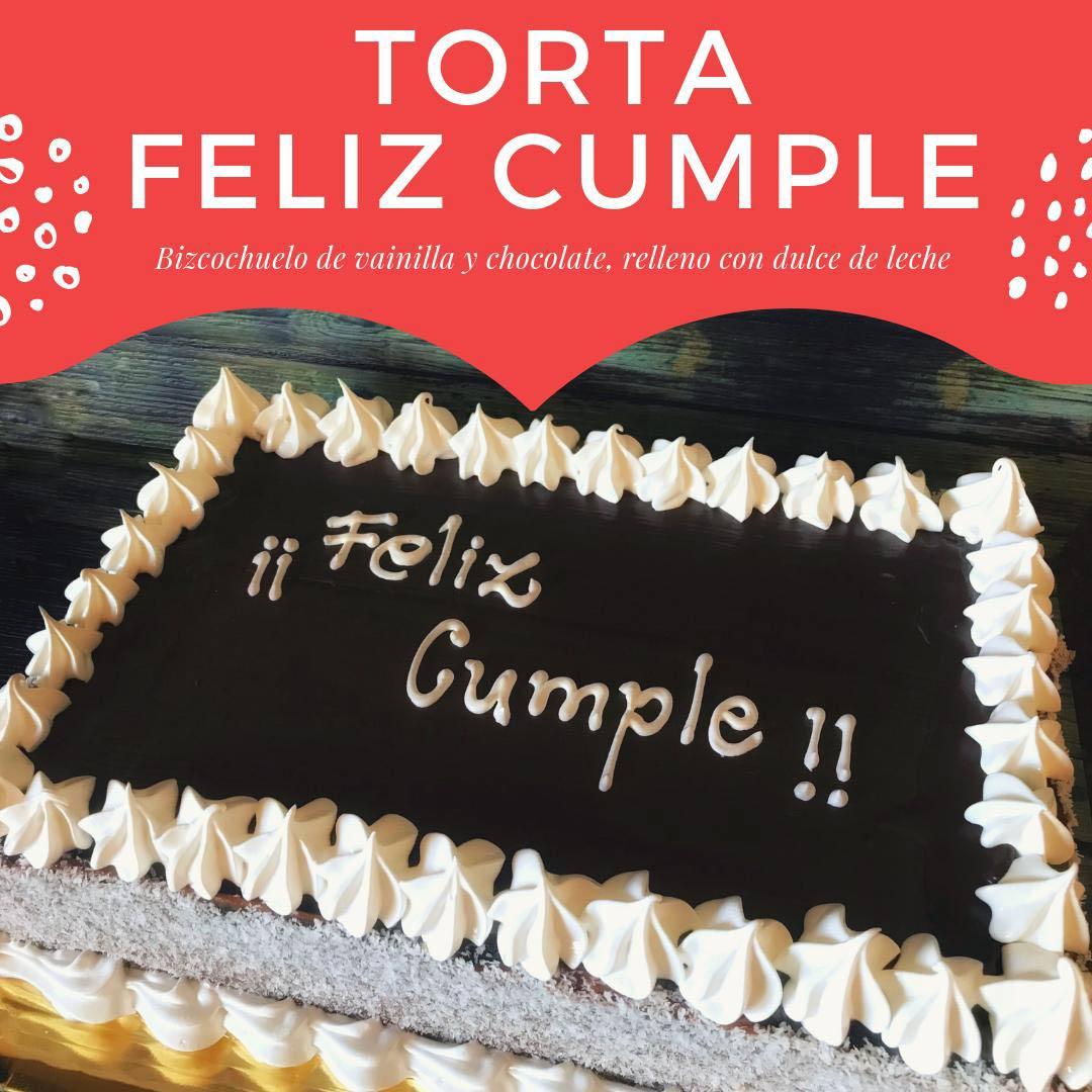 Torta Feliz Cumple